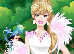 Barbie Noiva Cisne