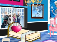 Quarto do Filme Frozen