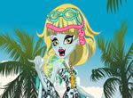 Monster High Lagoona Blue na Praia